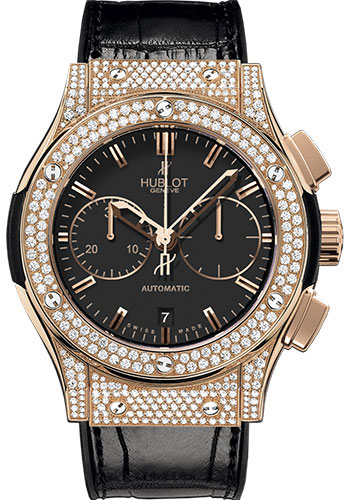 Hublot Watches - Classic Fusion 45mm Chronograph King Gold - Style No: 521.OX.1180.LR.1704