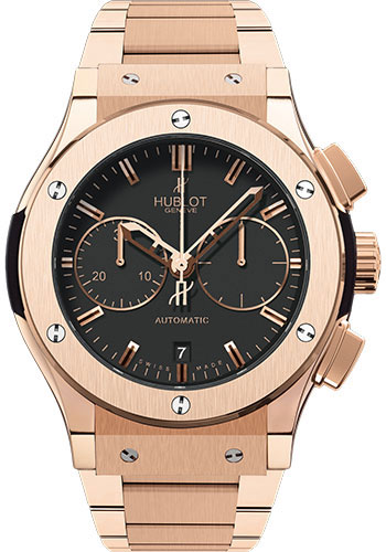 Hublot Watches - Classic Fusion 45mm Chronograph King Gold - Style No: 521.OX.1180.OX