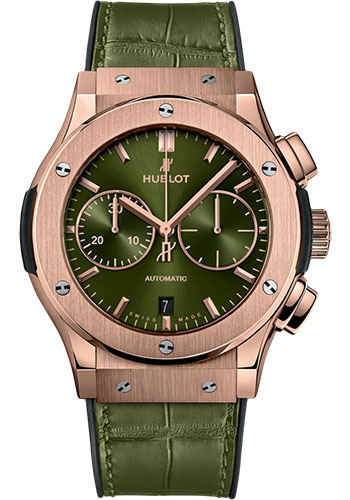 Hublot Watches - Classic Fusion 45mm Chronograph - King Gold - Style No: 521.OX.8980.LR