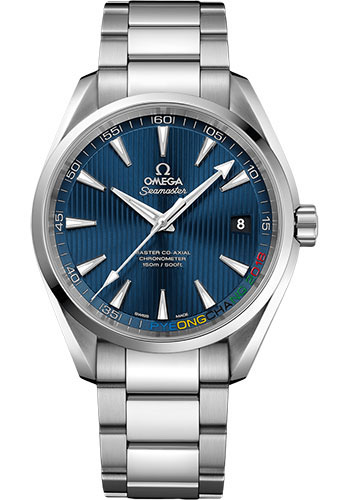 Omega Watches - Specialities Olympic Collection PyeongChang 2018 - Style No: 522.10.42.21.03.001