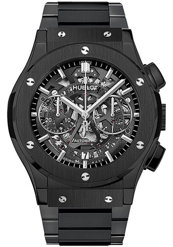 Hublot Watches - Classic Fusion 45mm Aerofusion Chronograph - Black Magic - Style No: 525.CM.0170.CM