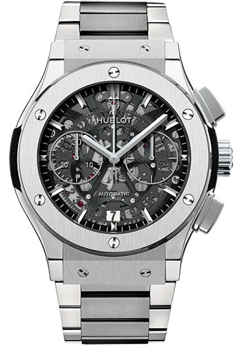 Hublot Watches - Classic Fusion 45mm Chronograph - Titanium - Style No: 525.NX.0170.NX