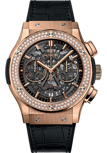 Hublot Watches - Classic Fusion 45mm Aerofusion Chronograph - King Gold - Style No: 525.OX.0180.LR.1104