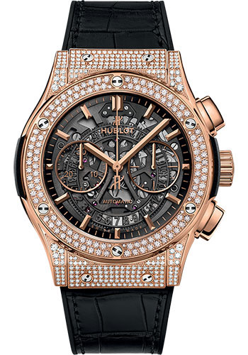 Hublot Watches - Classic Fusion 45mm Aerofusion Chronograph - King Gold - Style No: 525.OX.0180.LR.1704