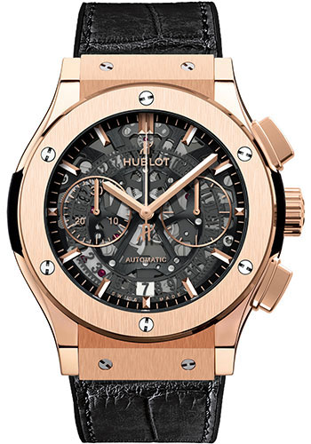 Hublot Watches - Classic Fusion 45mm Chronograph - King Gold - Style No: 525.OX.0180.LR