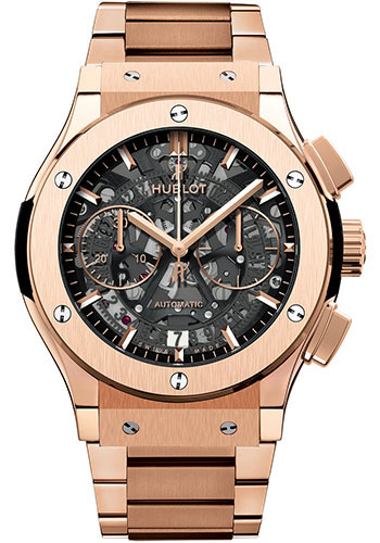 Hublot Watches - Classic Fusion 45mm Chronograph - King Gold - Style No: 525.OX.0180.OX