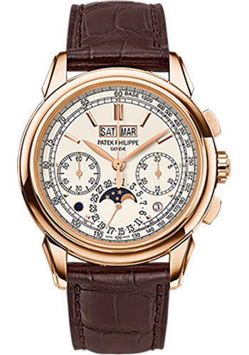 Patek Philippe Watches - Grand Complications Perpetual Calendar Moonphase Chronograph - Style No: 5270R-001
