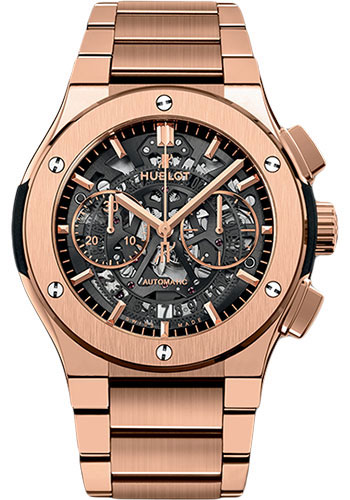 Hublot Watches - Classic Fusion 45mm Aerofusion Chronograph - King Gold - Style No: 528.OX.0180.OX