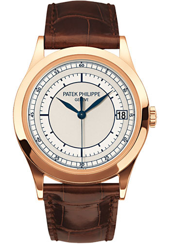 Patek Philippe Watches - Calatrava 38mm - Style No: 5296R-001