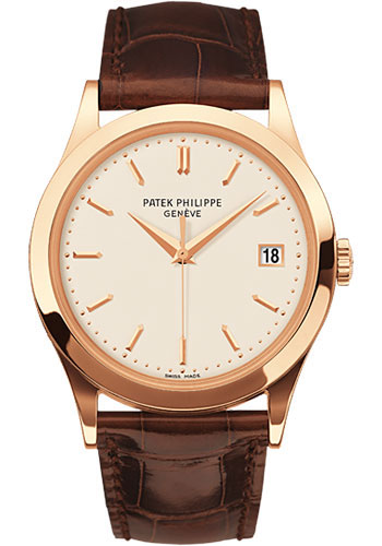 Patek Philippe Watches - Calatrava 38mm - Style No: 5296R-010