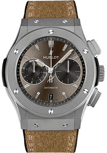 Hublot Watches - Classic Fusion 45mm Chronograph - Titanium - Style No: 537.NI.7417.VR
