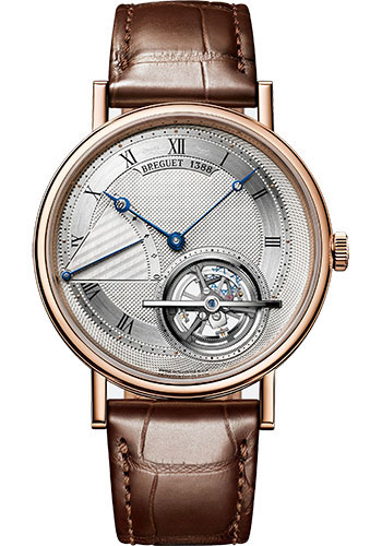 Breguet Watches - Classique Grande Complication 5377 - Extra Thin Power Reserve Tourbillon - 41mm - Style No: 5377BR/12/9WU