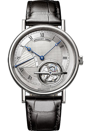 Breguet Watches - Classique Grande Complication 5377 - Extra Thin Power Reserve Tourbillon - 41mm - Style No: 5377PT/12/9WU