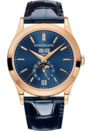 Patek Philippe Watches - Complications Annual Calendar - 38.5mm - Style No: 5396R-014