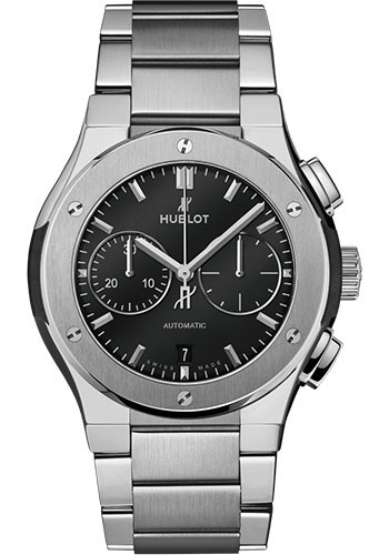 Hublot Watches - Classic Fusion 42mm Chronograph - Titanium - Style No: 540.NX.1170.NX