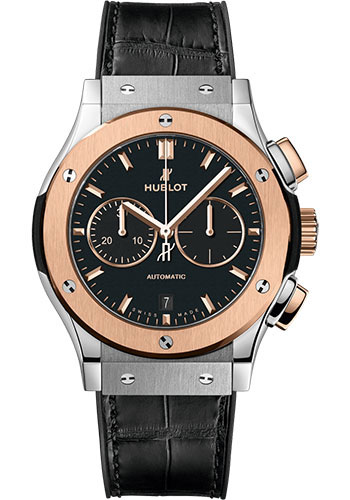 Hublot Watches - Classic Fusion 42mm Chronograph - Titanium and King Gold - Style No: 541.NO.1181.LR