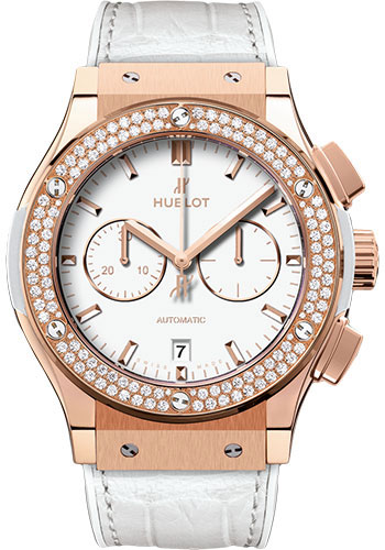Hublot Watches - Classic Fusion 42mm Chronograph - King Gold - Style No: 541.OE.2080.LR.1104
