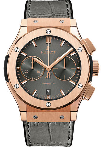 Hublot Watches - Classic Fusion 42mm Chronograph - King Gold - Style No: 541.OX.7080.LR