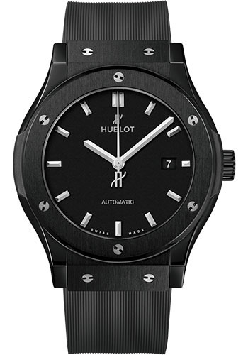 Hublot Watches - Classic Fusion 42mm Black Magic - Style No: 542.CM.1171.RX