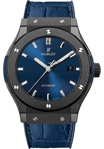 Hublot Watches - Classic Fusion 42mm Ceramic Blue - Style No: 542.CM.7170.LR