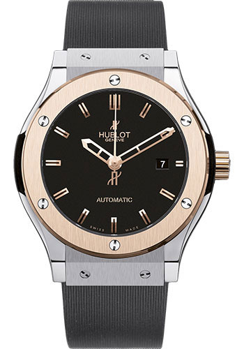 Hublot Watches - Classic Fusion 42mm Titanium and King Gold - Style No: 542.NO.1180.RX