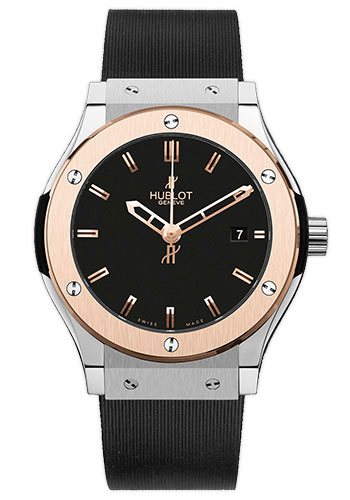 Hublot Watches - Classic Fusion 42mm Zirconium And Red Gold - Style No: 542.ZP.1180.RX