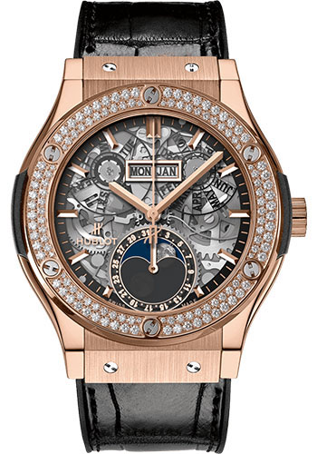 Hublot Watches - Classic Fusion 42mm Aerofusion Moonphase - Style No: 547.OX.0180.LR.1104