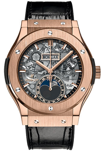 Hublot Watches - Classic Fusion 45mm King Gold - Style No: 547.OX.0180.LR