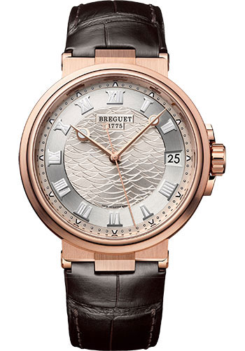 Breguet Watches - Marine 5517 - 40mm - Style No: 5517BR/12/9ZU