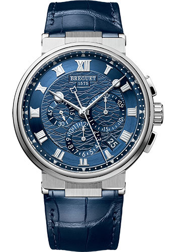 Breguet Watches - Marine 5527 - Chronograph - 40mm - Style No: 5527BB/Y2/9WV