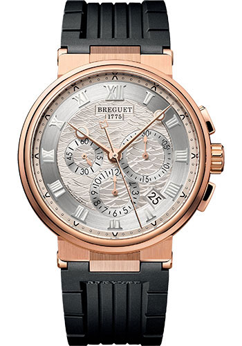 Breguet Watches - Marine 5527 - Chronograph - 40mm - Style No: 5527BR/12/5WV