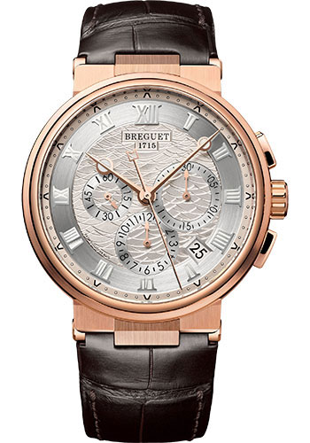 Breguet Watches - Marine 5527 - Chronograph - 40mm - Style No: 5527BR/12/9WV