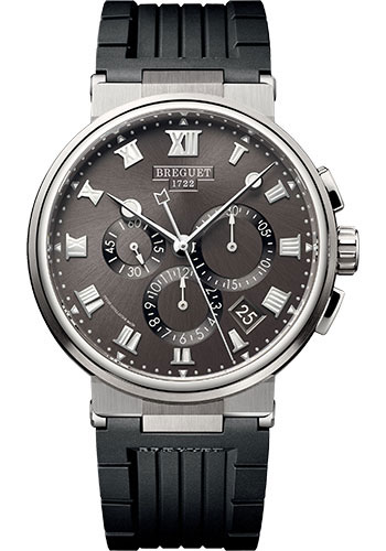 Breguet Watches - Marine 5527 - Chronograph - 40mm - Style No: 5527TI/G2/5WV