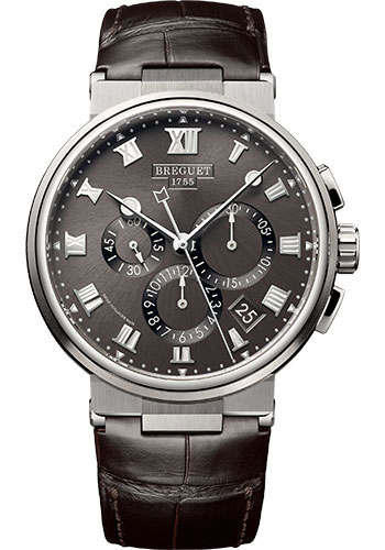 Breguet Watches - Marine 5527 - Chronograph - 40mm - Style No: 5527TI/G2/9WV