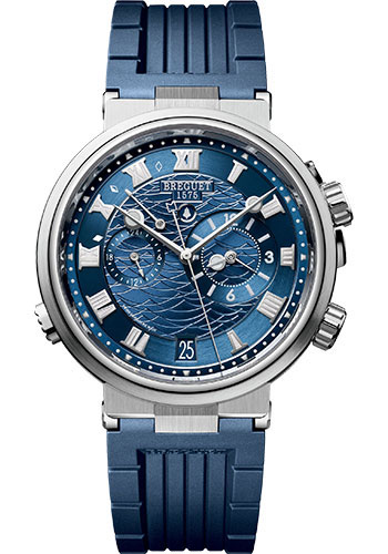 Breguet Watches - Marine 5547 - Alarme Musicale - 40mm - Style No: 5547BB/Y2/5ZU