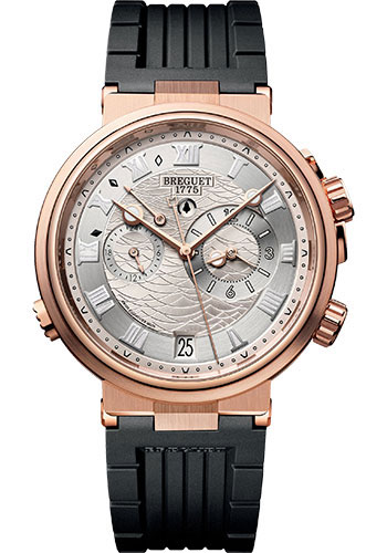 Breguet Watches - Marine 5547 - Alarme Musicale - 40mm - Style No: 5547BR/12/5ZU
