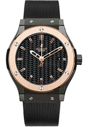Hublot Watches - Classic Fusion 38mm Ceramic And Red Gold - Style No: 561.CP.1780.RX