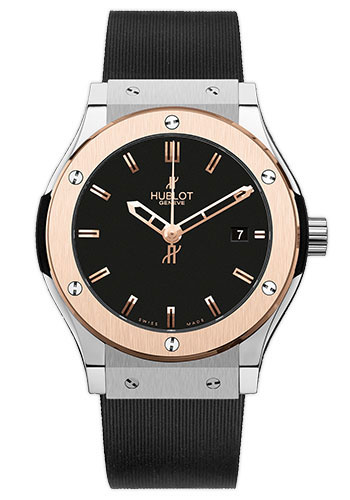 Hublot Watches - Classic Fusion 38mm Zirconium And Red Gold - Style No: 561.ZP.1180.RX