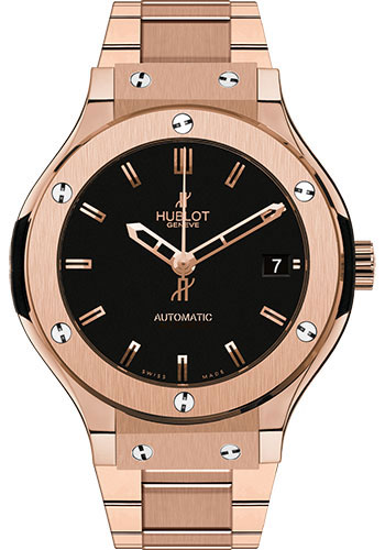Hublot Watches - Classic Fusion 38mm King Gold - Style No: 565.OX.1180.OX