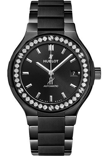 Hublot Watches - Classic Fusion 38mm Black Magic - Style No: 568.CM.1470.CM.1204