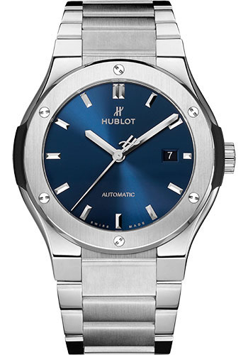 Hublot Watches - Classic Fusion 38mm Titanium - Style No: 568.NX.7170.NX
