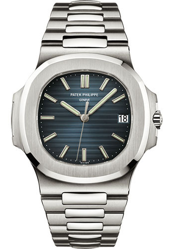 Patek philippe nautilus mens stainless steel watches for Patek phillipe watch