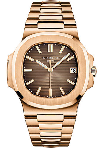 Patek Philippe Watches - Nautilus 40mm - Rose Gold - Style No: 5711/1R-001