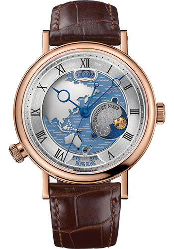 Breguet Watches - Classique 5717 - Hora Mundi - 43mm - Style No: 5717BR/AS/9ZU