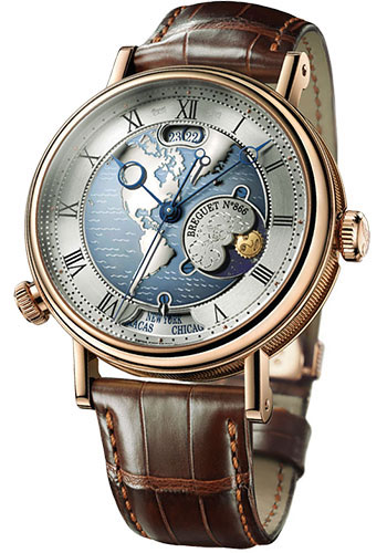 Breguet Watches - Classique 43mm - Rose Gold - Style No: 5717BR/US/9ZU