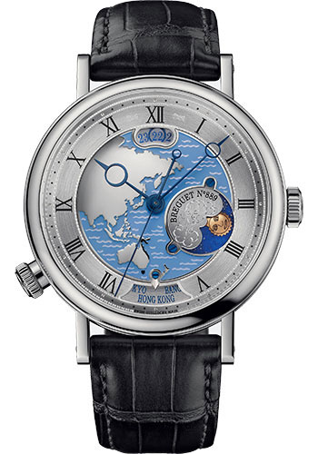 Breguet Watches - Classique 5717 - Hora Mundi - 43mm - Style No: 5717PT/AS/9ZU