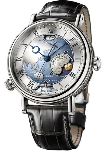 Breguet Watches - Classique 43mm - Platinum - Style No: 5717PT/AS/9ZU