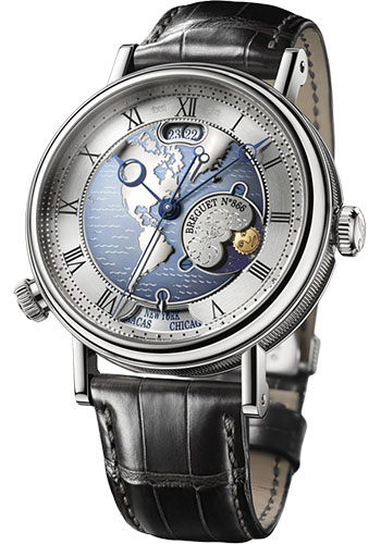 Breguet Watches - Classique 43mm - Platinum - Style No: 5717PT/US/9ZU
