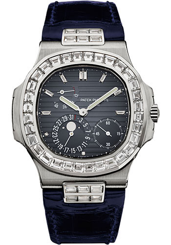 Patek Philippe Watches - Nautilus Mens White Gold - Style No: 5724G-001
