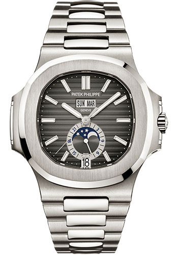 Patek Philippe Watches - Nautilus Mens Stainless Steel - Style No: 5726/1A-001